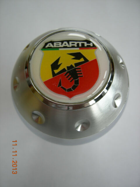 ABARTH FIAT ALUMINUM GEAR SHIFT KNOB