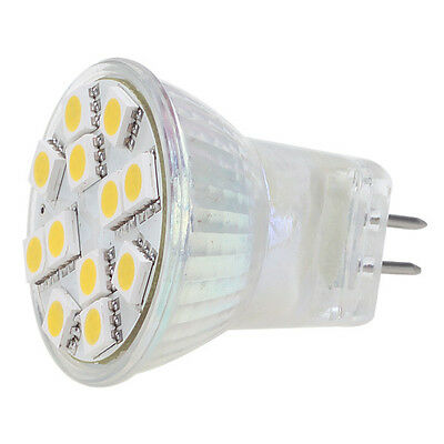MR11 REPLACEMENT 25W LED BULB ENERGY EFFICIENT SMD 12V SPOT LIGHT CARAVAN LAMP