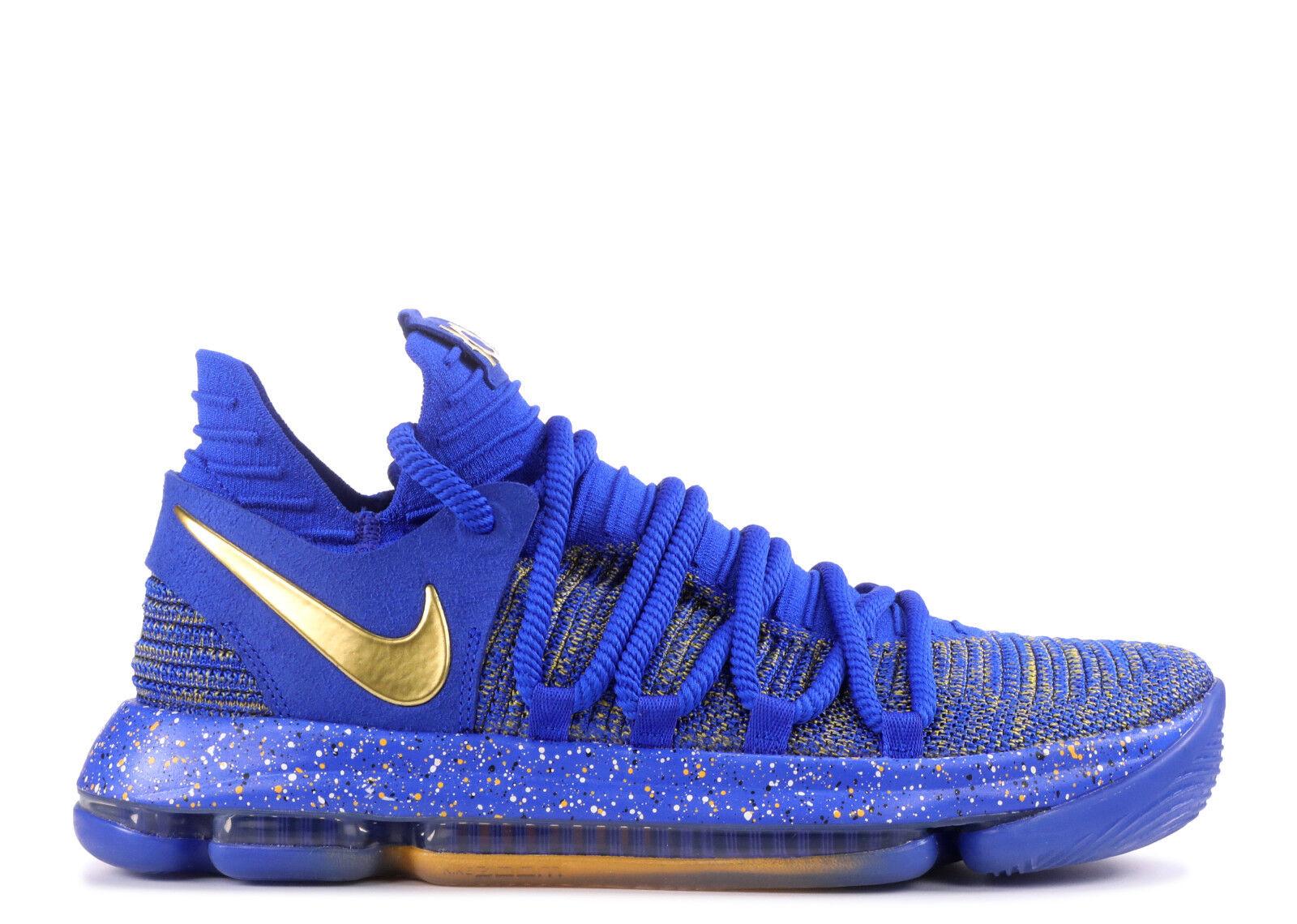 Nike KD 10 X Finals MVP golden State Warriors Size 8. 897815-403 jordan kobe