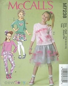 4bb015f7d6b Image is loading McCall-039-s-7238-Girls-039-Girls-039-
