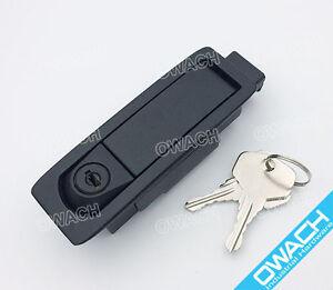 Image is loading Door-latch-panel-lock-push-to-close-for- & Door latch panel lock push-to-close for Dell Server Rack Enclosure ...