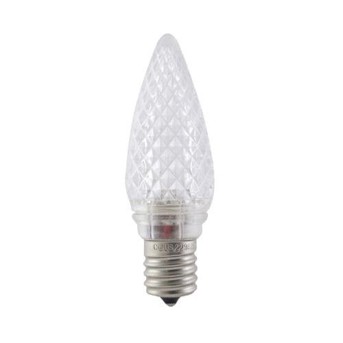 Aurio Lighting C9 LED Flashing Christmas Retrofit Lights E17 Base 25 Pack