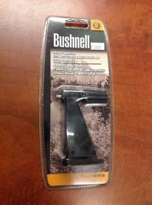 Binocular Cases & Accessories Mew Bushnell Tripod Adapter Black Sealed In Package