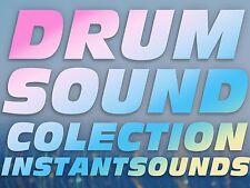 Motif XS ES Drum Kits OVER 1000 Samples Yamaha Hip hop Rnb Dance WAV Sounds NOW!