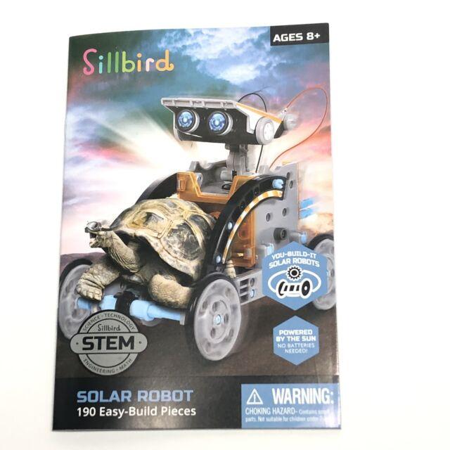 Stem 12 in 1 Education Solar Robot Toys 190 PC DIY ...