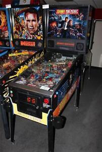 JOHNNY MNEMONIC Pinball Machine - Williams 1995 - Great Game Great Price!