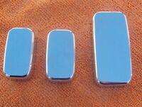 2010-2014 Chevrolet Camaro Chrome Seat Button Covers 3 Pieces