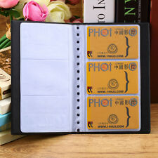Leather 120 cards business name id credit card holder book case item 6 leather 120 cards business name id credit card holder book case keeper organizer leather 120 cards business name id credit card holder book case colourmoves