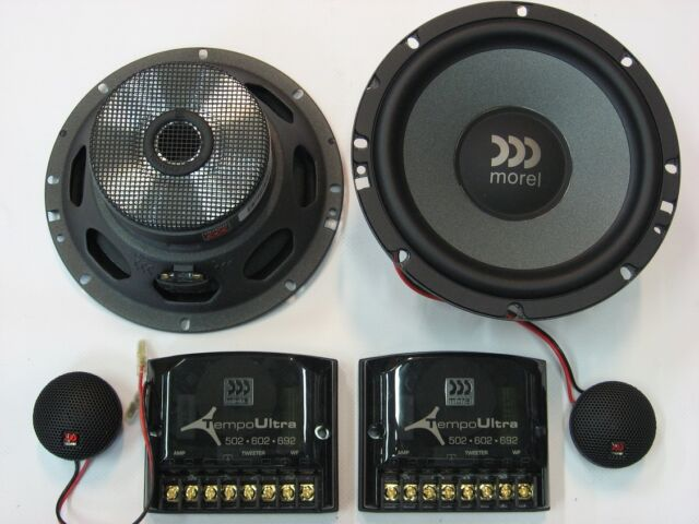 Morel Tempo Ultra 602 Component Car Speakers 2-way 120 RMS 250w Black Friday