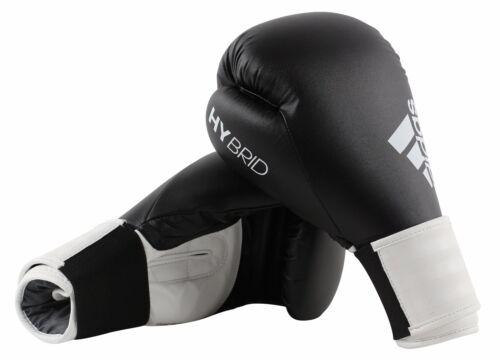 best website d2d52 0953b 1 sur 12 Adidas Gants de Boxe Combat Hybride 100 8oz 283 Gr 12oz 14oz 16 oz  Noir Rouge