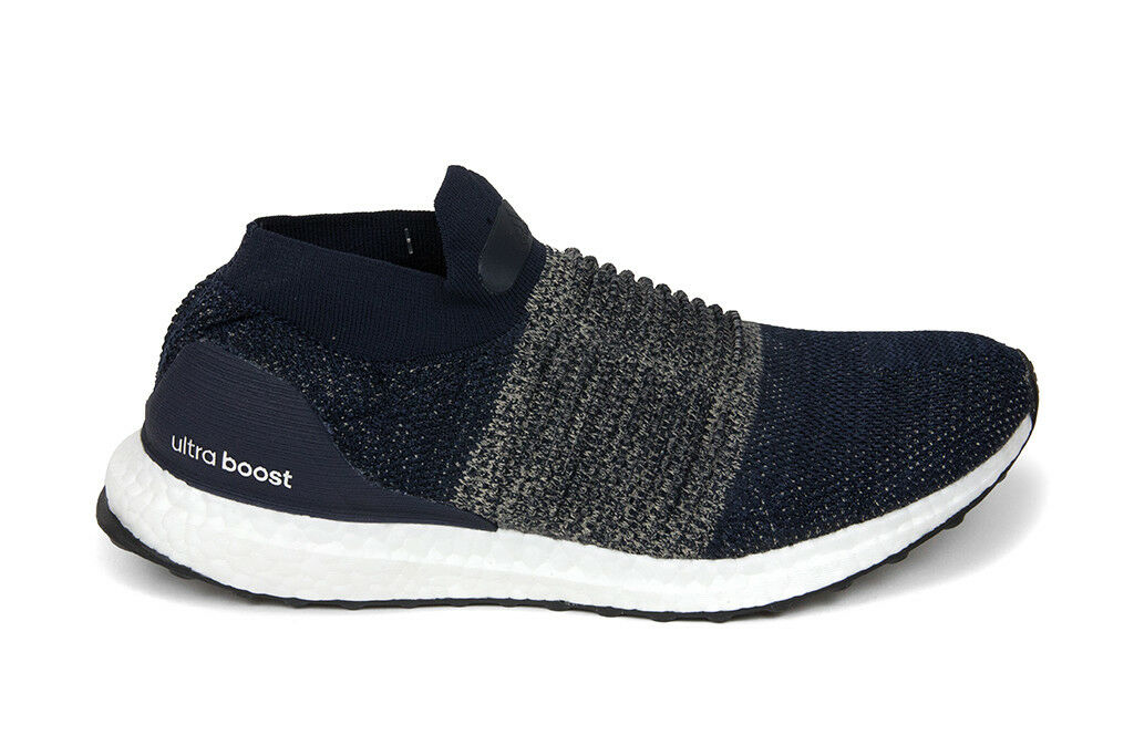 Adidas Originals Ultraboost Laceless in Legend Ink Raw gold BB6135 Free Shipping