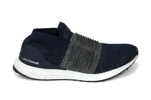 Adidas Originals Ultraboost Laceless in Legend Ink/Raw Gold BB6135 Free Shipping