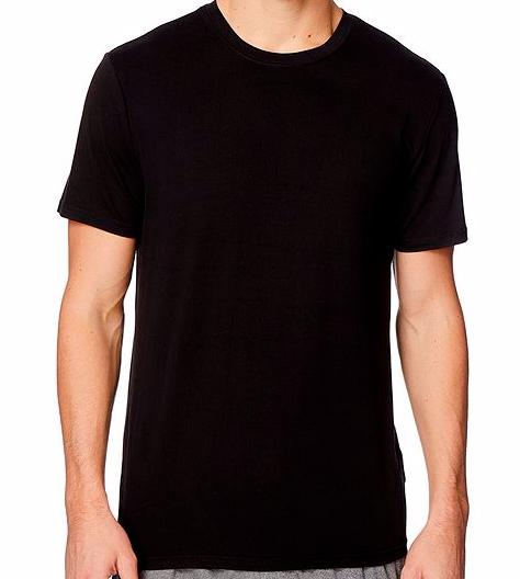 0f1390a26d1e 32 Degrees Cool Men's Short Sleeve Crew Neck T-shirt 2pk Black Size ...