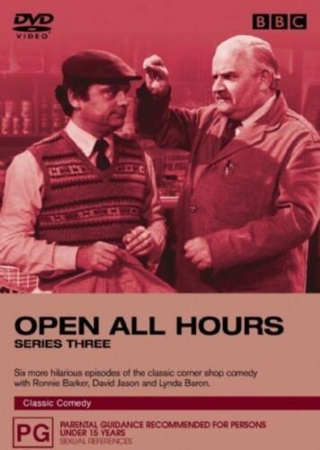 1 of 1 - Open All Hours : Series 3 (DVD, 2005) Brand New & Sealed Region 4