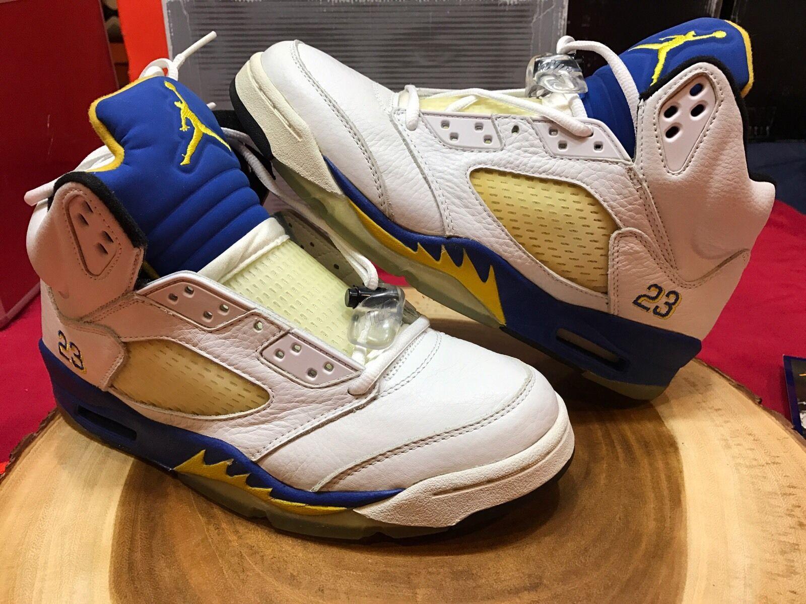Nike air jordan 9 retr v laney taglia 9 jordan og bel air oreo toro cdp - iv, v, vi, vii, x, xi 67a678