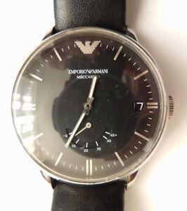 Montre homme EMPORIO ARMANI Meccanico automatique watch   eBay ea479ebacf3