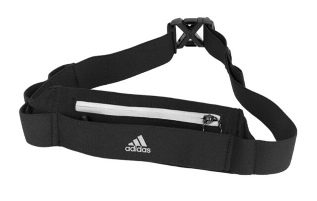 Adidas Run Belt Waist Expandable Bags Sports Black Waistbelt Bag Sacks  CF5210 ca0909174c3c2