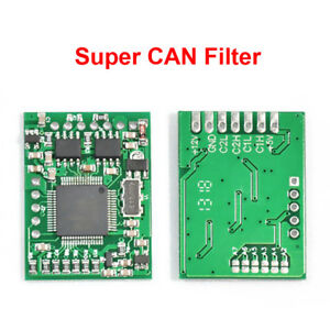 Super CAN Filter For BMW CAS4 and FEM MB W212 W221 W164 W204 Renault Laguna III
