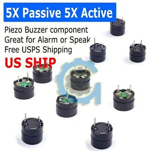 5X-Passive-5X-Passive-Buzzer-Acoustic-Component-Mini-Alarm-Speaker-For-Arduino