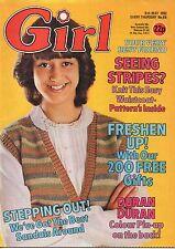 Girl & Dreamer Magazine 8 May 1982    Aneka