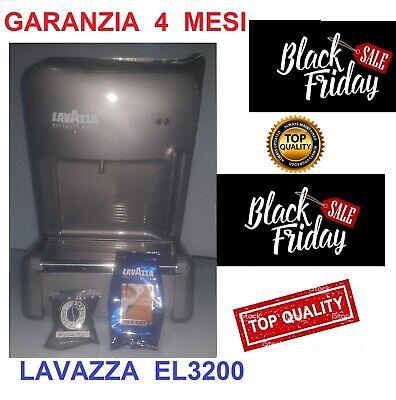 MACCHINA CAFFE ESPRESSO LAVAZZA EL3200 CAPSULE MONODOSE GARANZIA 4 MESI