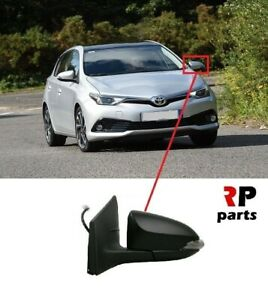 FOR-TOYOTA-AURIS-2013-2015-NEW-WING-MIRROR-ELECTRIC-HEATED-NOT-PAINTED-LEFT-LHD