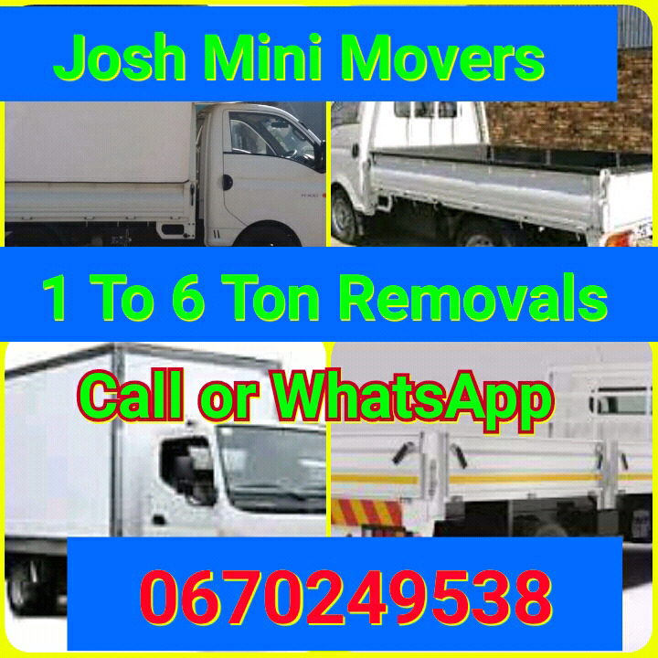 MINI MOVERS LOCALLY AND NATIONWIDE FOR A FREE QOUTE CALL OR WHATSAPP