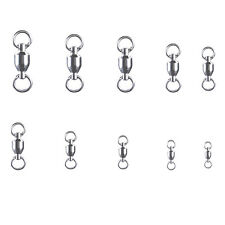 Heavy Duty Ball Bearing Swivel 35-507Lb Solid Ring Lot 0//1//2//3//4//5//6//7//8//10#