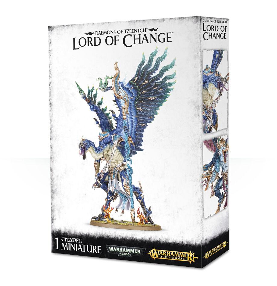 Daemons of Tzeentch Lord of Change Kairos Fatewaver Chaos Warhammer 40k Age NY