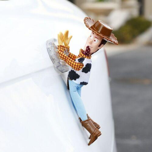 Engraçado 3D Toy Sherif Woody Story Buzz Carro Boneca And fora de 2018 Brinquedos Carro Pendurado