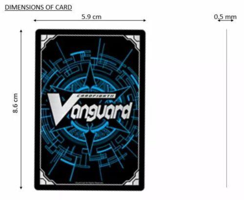 CARDFIGHT VANGUARD BLUISH FLAME LIBERATOR PERCIVAL V-BT12//020EN RR
