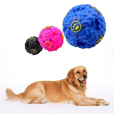 Food Dispenser Feeder Holder Giggle Ball Pet Dog Chew Treat Trainning Toy