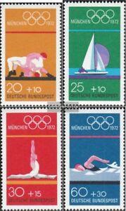 BRD-BR-Deutschland-719-722-kompl-Ausgabe-gestempelt-1972-Olympiade