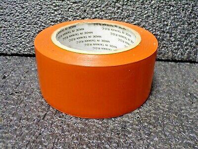 "6Mil White 1 Roll Vinyl Floor Safety Marking Tape 2/"" x 36 yd PVC OSHA"
