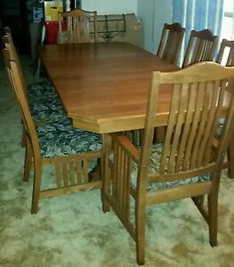 Richardson Brothers Eastwood Solid Oak Table EBay