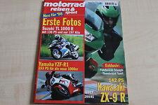 164811) BMW K 1200 RS im TEST - Motorrad Reisen Sport 10/1997