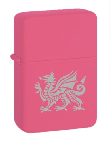 Welsh Dragon 304 Personalised Engraved Star Lighter In Gift Tin