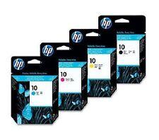 4x HP Testina di stampa HP Deskjet 2000c 2500c 2500cn/Nr. 10 C4800A -C4803A