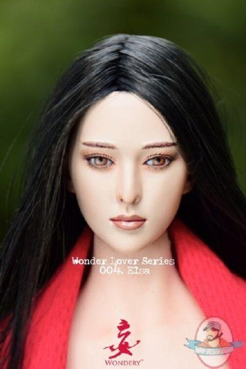 Wondery 1 6 Lover Series Elsa Headsculpt WLS-004 for 12 inch Figures