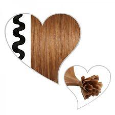 25 ondulado Mechas marrón cobre#31, 55 cm, Extensiones de pelo, Cabello natural