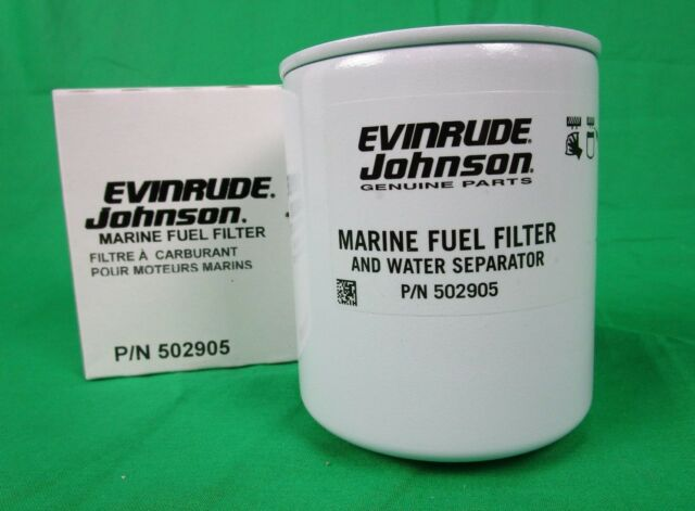 oem omc/evinrude/johnson - p/n 502905 - outboard fuel filter