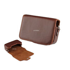 12Z Learther Camera Case For Canon Powershot S100 SX260 SX240 A1300 A810