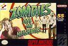Zombies Ate My Neighbors (Super Nintendo Entertainment System, 1994) - European Version
