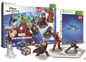 Disney-Infinity-2-0-Marvel-Super-Heroes-Xbox-360-Starter-Pack-AVENGERS-GAME-NEW