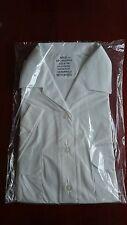 Bundeswehr Marine Bluse Damen Gr.42 Dienst Hemd weiß f. Sakko Uniform Anzug