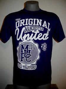 New-Manchester-United-Official-Merchandise-Men-039-s-Purple-Short-Sleeve-T-Shirt