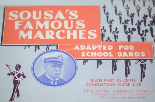 Sousa/'s Famous Marches School Bands Marching E Clarinet Sheet Music #9D214