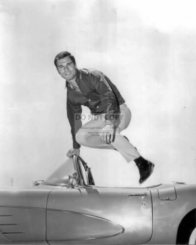 "8X10 PUBLICITY PHOTO GEORGE MAHARIS /""BUZ MURDOCK/"" IN /""ROUTE 66/"" DA-629"