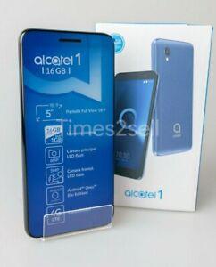 Alcatel 1 5033E 4G LTE 16GB GSM Unlocked Dual SIM Android Phone Black NEW