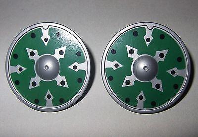 27237 Escudo redondo verde 2u playmobil,shield